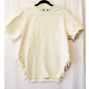 NWT Urban Outfitters Cream Tunic